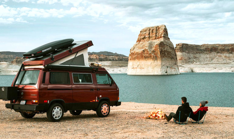 Peep At This Couple's Epic Road Trip Across All 59 US National Parks Hero Image