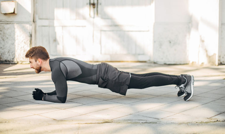 3 Forearm Plank Upgrades For A Stronger Core Hero Image