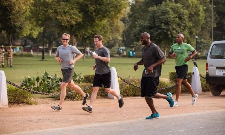 Image result for mark zuckerberg fitness