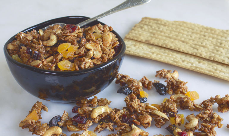 Make The Most Of Your Matzo With This Gluten-Free Granola Recipe Hero Image
