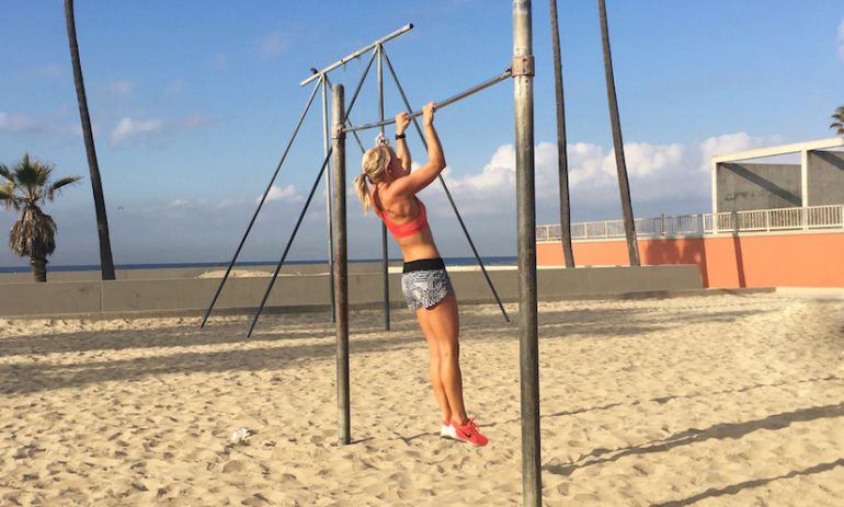 The Only 4 Moves You Need To Master A Pull-Up Hero Image
