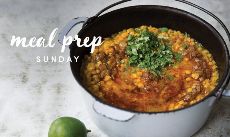 5 Days Of Healthy Meals: Inflammation-Taming Turmeric Soup Edition Hero Image