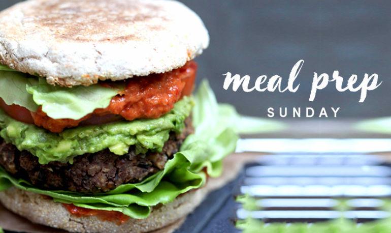 Meal Prep Sunday: Antioxidant-Rich Wild Rice Lentil Burgers + 5 Ways To Eat Them Hero Image