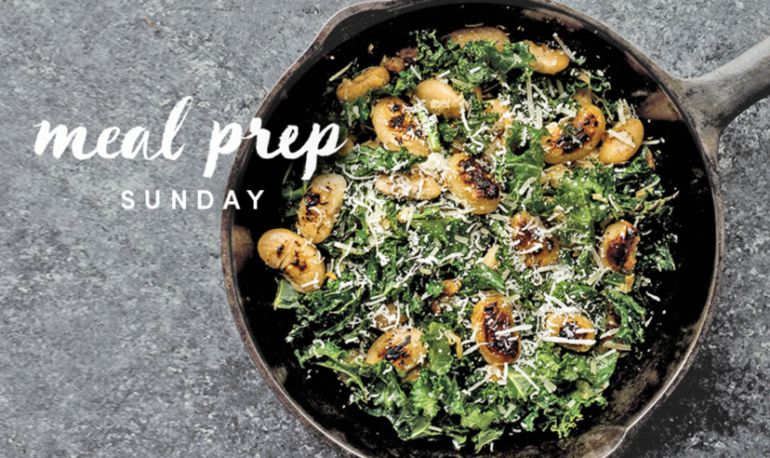 5 Days Of Healthy Meals: Gut-Friendly Sautéed Kale + Butter Beans Edition Hero Image