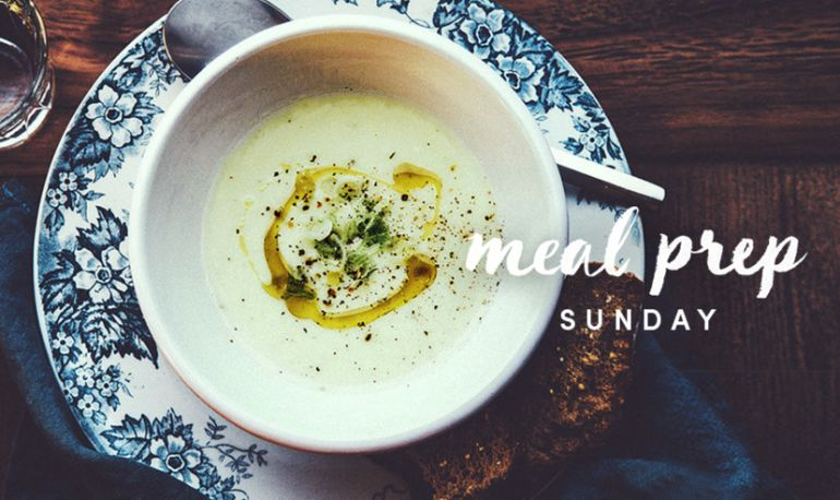 Meal Prep Sunday: Leek Soup That's Great For Your Gut Hero Image