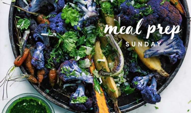 Meal Prep Sunday: Beautifying Roasted Carrots + Cauliflower With Lime Sambal Hero Image