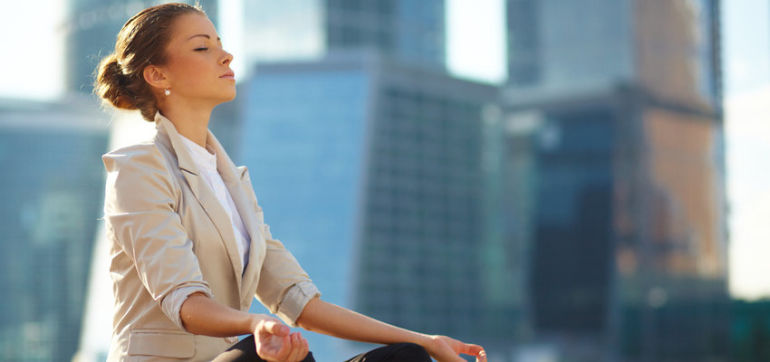 8 Ways To Stay A Yogi (Even With A Corporate Job) Hero Image