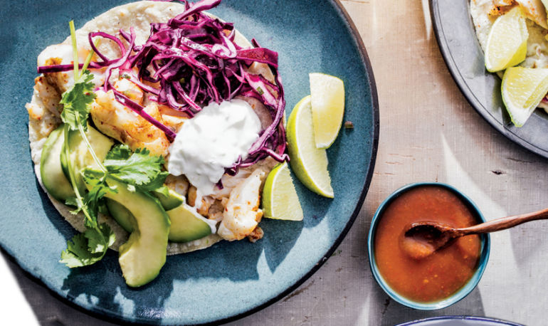 The World's Best (Healthy) Fish Tacos Take Just 20 Minutes To Make Hero Image
