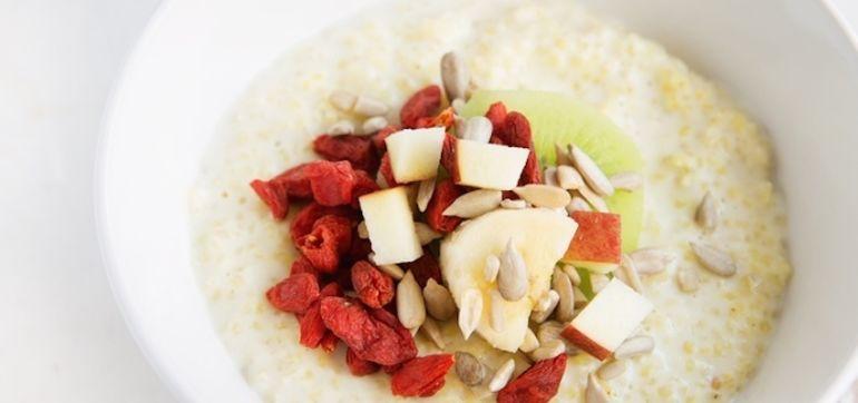 A New Take On The Breakfast Bowl: Millet Porridge Hero Image