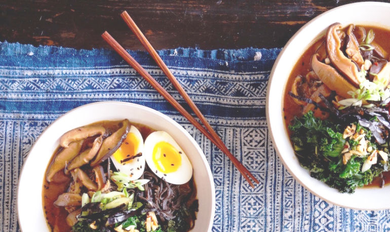 Weeknight Ramen That's Actually Good For You Hero Image