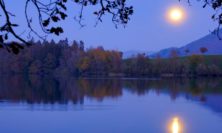 How To Harness The Power Of Tonight's Taurus Full Moon Hero Image