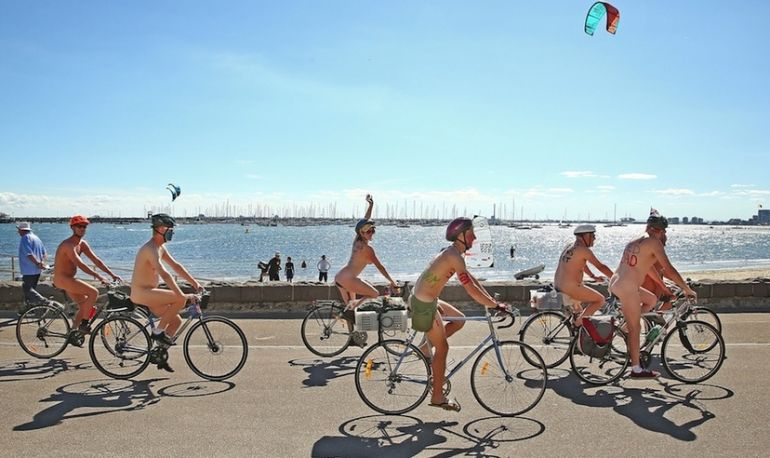 Why Nude Cyclists Are Hitting The Streets Of London This Weekend Hero Image