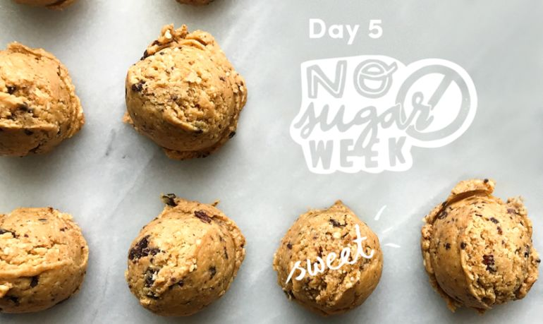 These No-Sugar Chocolate Peanut Butter Balls Will Satisfy All Your Sweet Cravings Hero Image