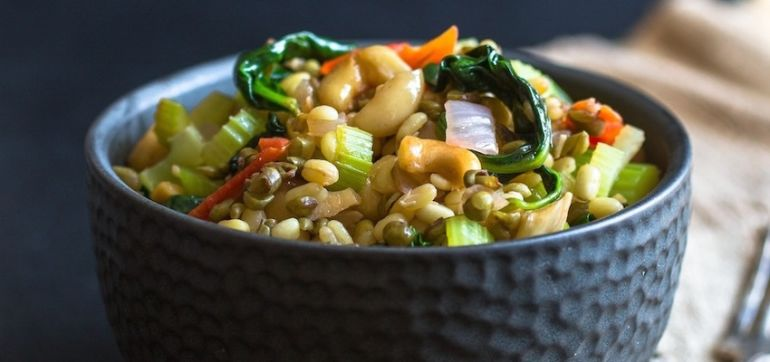 Energy Bowl With Mung Beans (And Other Good Stuff) Hero Image