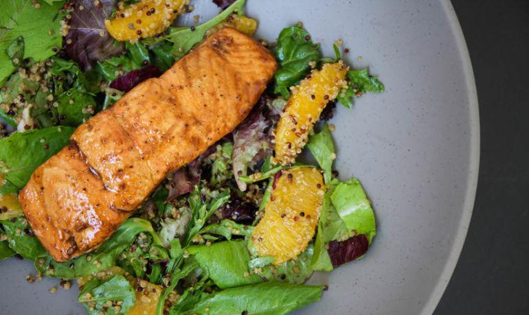 A Super-Simple Orange-Ginger Salmon Recipe Hero Image