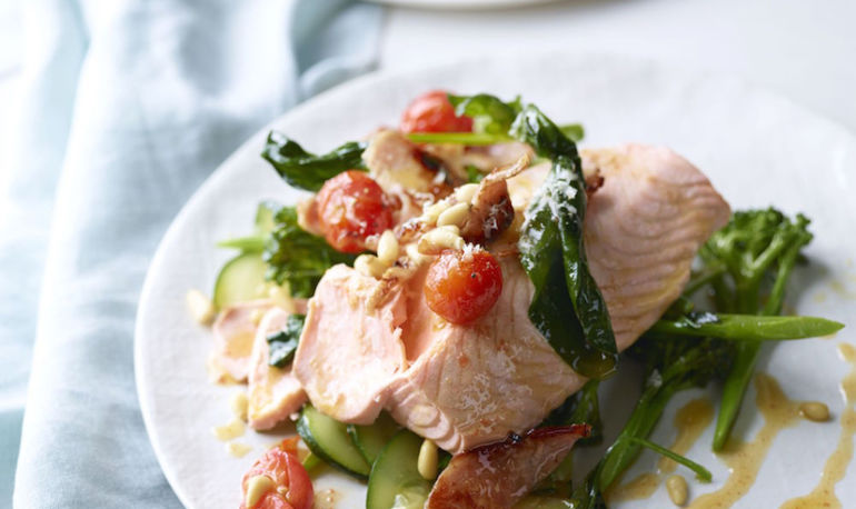 A Simple, Delicious Salmon Dinner That Only Takes 15 Minutes Hero Image