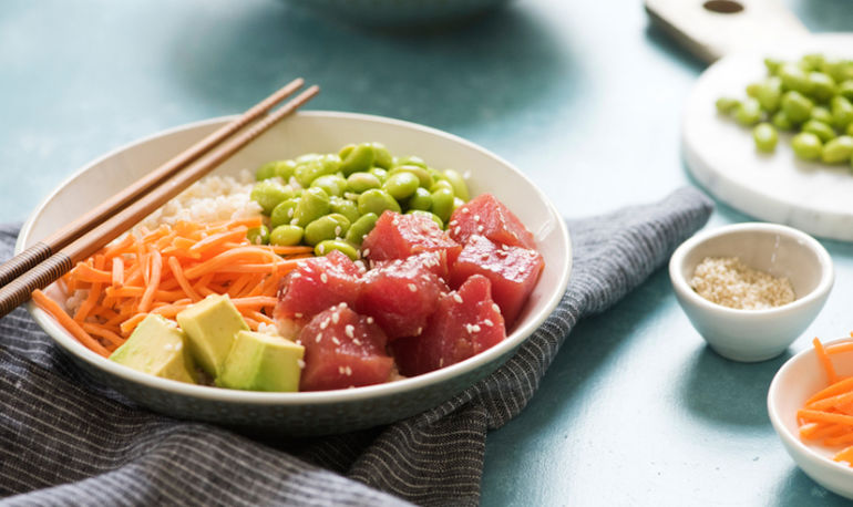 Everything You Need To Know About The Poke Bowl Trend: A Nutritionist Explains Hero Image