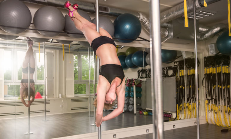 How Pole Dancing Helped This Suburban Mom Learn To Love Her Body Hero Image