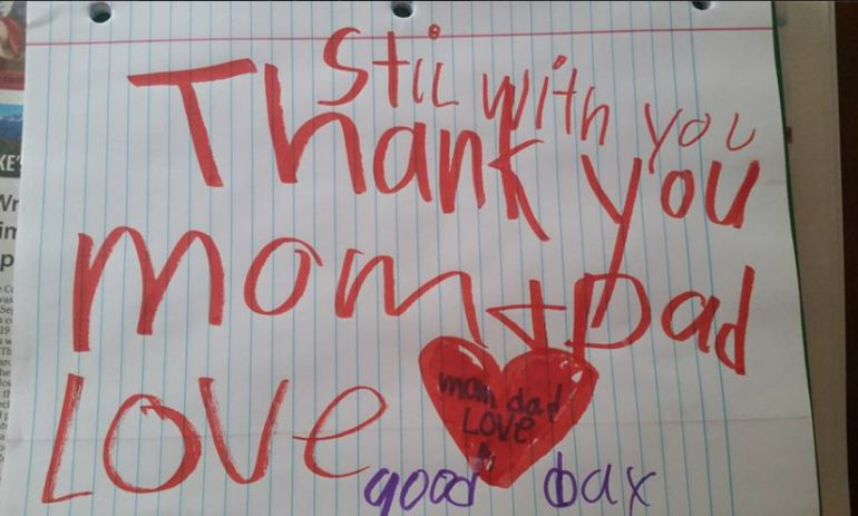 Parents Find Heart-Wrenching Note From 6-Year-Old Son Who Passed Away From Brain Infection Hero Image
