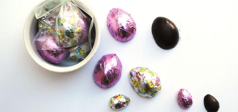 3-Ingredient Raw Chocolate Easter Eggs Hero Image