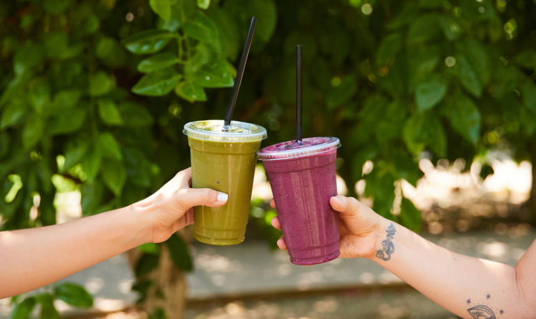 Add These Ingredients To Your Smoothie For Glowing Skin: A Health Coach Explains Hero Image