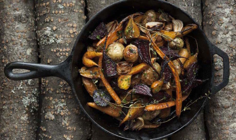 Stunning Side: Roasted Root Vegetables With Sage Butter Hero Image