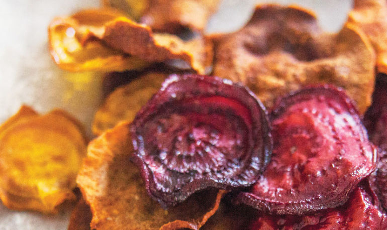 A Better Snack: Beet & Sweet Potato Chips Hero Image
