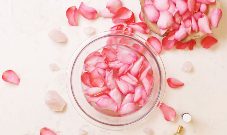This DIY Rosewater Face Mist Is Spring In A Bottle Hero Image
