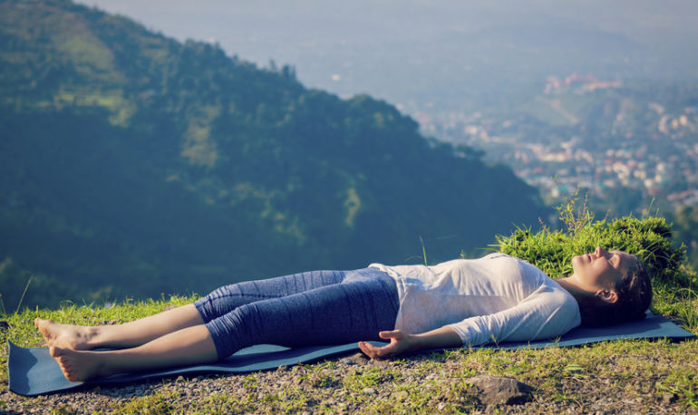 Why You Should Never, Ever Skip Savasana Hero Image