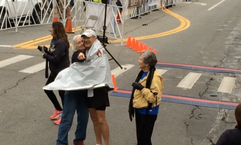 This 73-Year-Old Man Just Completed His 50th Marathon (In 50 States!) Hero Image