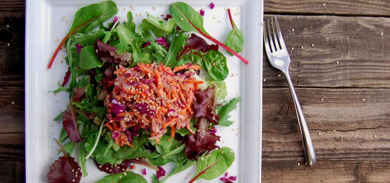 Perfect Salad Topping: Sesame & Citrus Slaw Hero Image