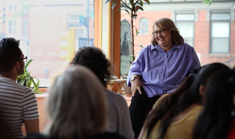 My Mindfulness Practice: Sharon Salzberg Shares How She's Been Meditating For 45 Years Hero Image