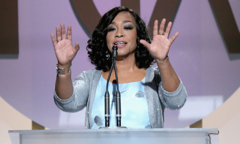"Shonda Rhimes Accepted Her PGA Award In The Best Way Possible: ""I Deserve This"" Hero Image"