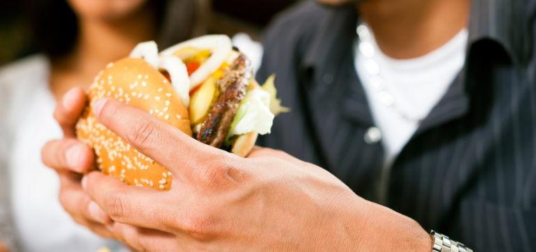 The Veggie Burger That Looks & Tastes So Much Like Meat, It Bleeds Hero Image