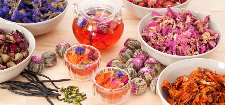 DIY: Make Your Own Tea With Summer Herbs Hero Image