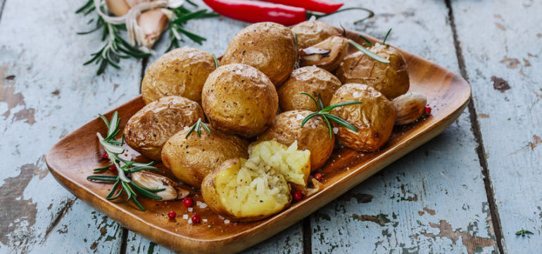 Veggie Showdown: Sweet Potato Vs. Potato Hero Image