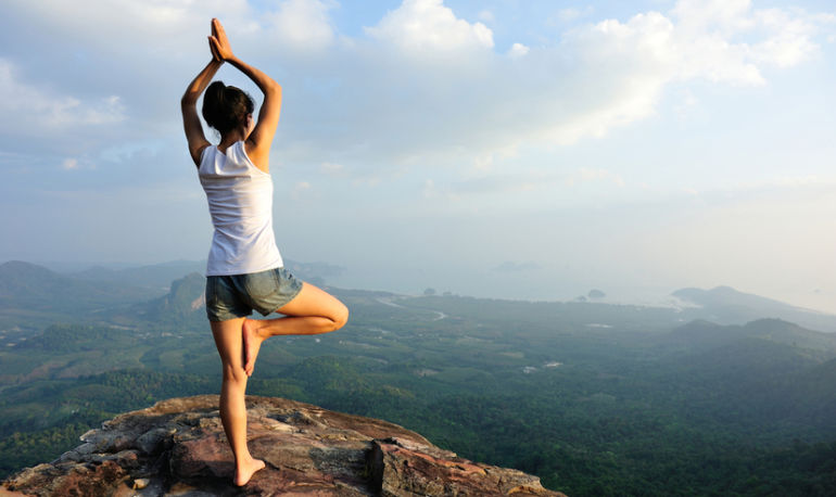 5 Tips For Getting Over A Yoga Pose (And Anything Else!) That Scares You Hero Image