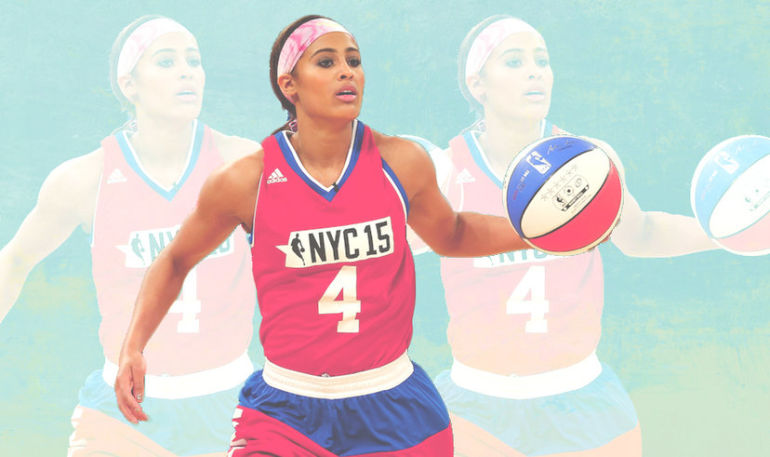 WNBA Star Skylar Diggins On Kale, Letting Go Of The Negative, And #Wellth Hero Image
