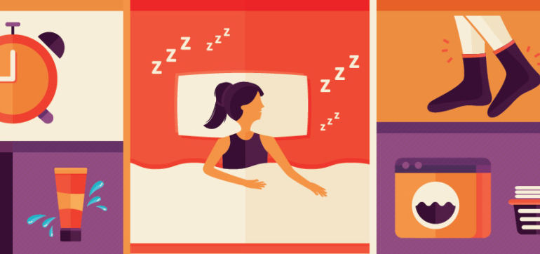 How To Get The Best Beauty Sleep (Infographic) Hero Image