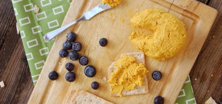 Vegan Smoked Cheddar Spread Hero Image