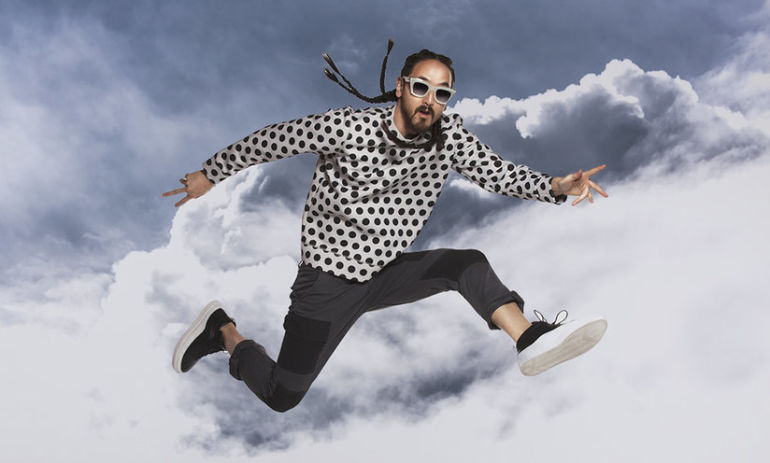 DJ Steve Aoki On Turning Your Passion Into A Career And #Wellth Hero Image