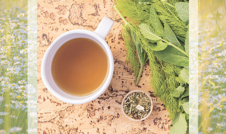 Make This Anti-Anxiety Tea This Weekend, Sip Yourself Calm All Week Long Hero Image