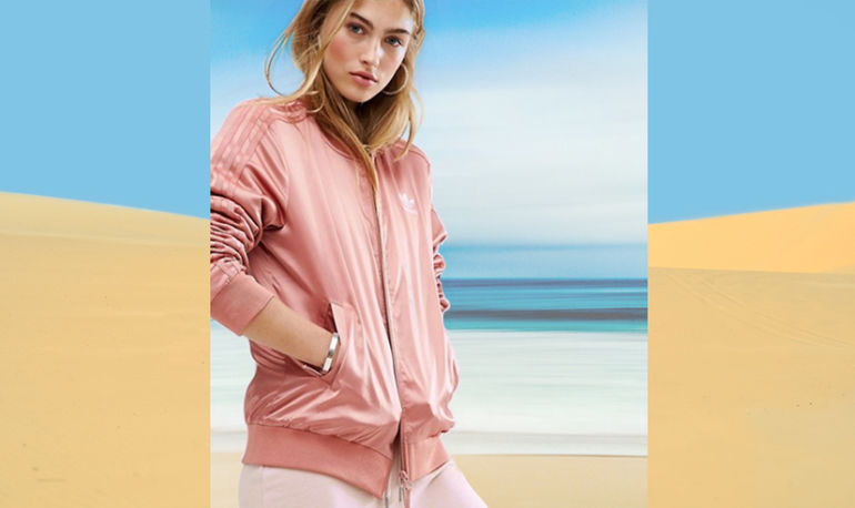 Trend Alert: Pale Pink Bombers Are About To Be Everywhere. Here Are Our Top Picks Hero Image