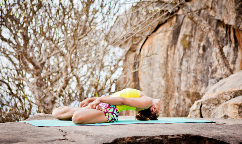 Need To Bust Stress? Give These Restorative Yoga Poses A Try Hero Image