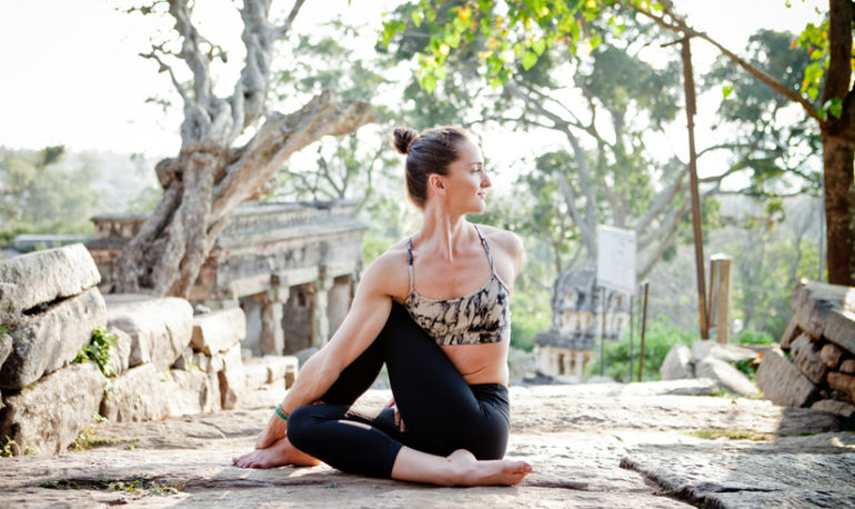 6 Yoga Twists To Help You Release The Past + Make Room For The Future Hero Image