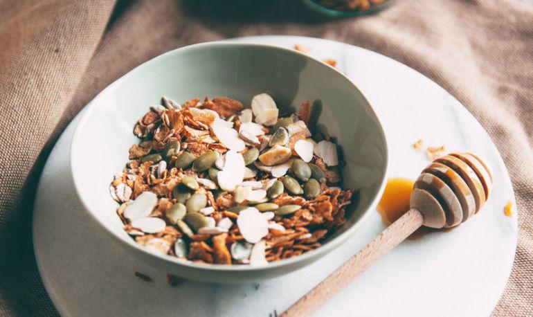 This Detoxifying Savory Granola Bowl Will Give You Radiant Skin Hero Image