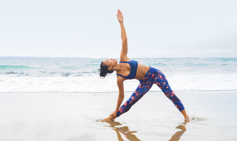 Want To Open Up Your Shoulders & Heart? Try This Yoga Flow Hero Image