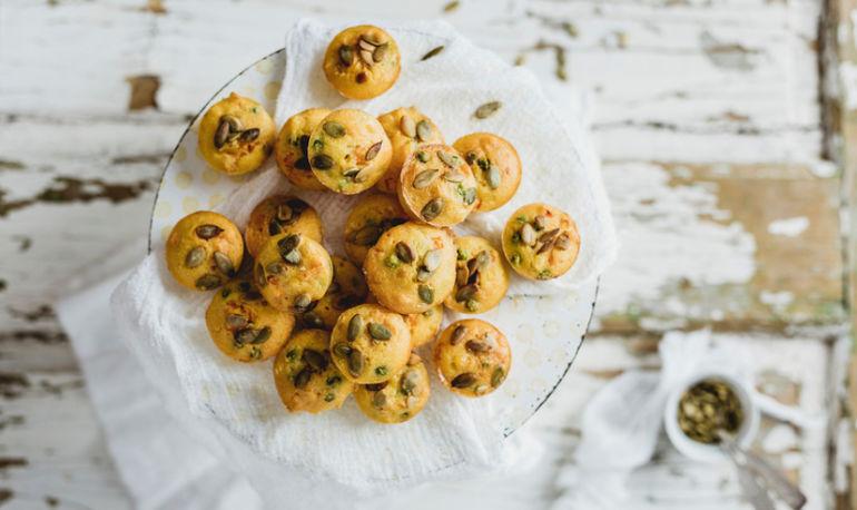 The Perfect Mid-Season Pumpkin Gingerbread Muffin Hero Image