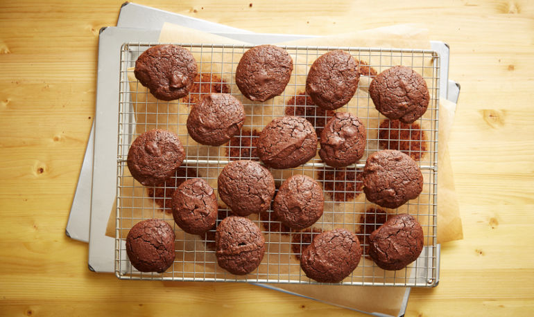 The Perfect Christmas Eve Cookie: Dorie Greenspan's Double-Chocolate Recipe Hero Image