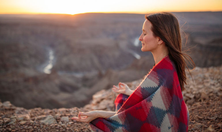 I Meditated Twice A Day For 90 Days. Here's What Happened Hero Image